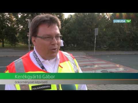Polgárőrök segítik a gyermekek iskolába közlekedését