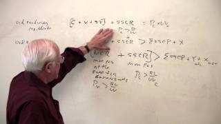 Econ 305, Lecture 23, Part IV