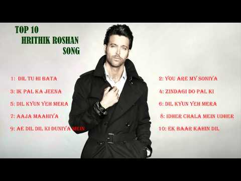 Download Top 10 Hrithik Roshan song  ,audio jukebox, top 10 hd file 3gp hd mp4 download videos