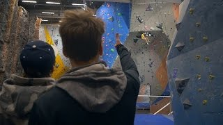 Behind The Scenes Footage Of Creating A Sport Climbing Video by Eric Karlsson Bouldering