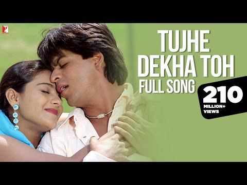 Tujhe Dekha Toh   Full Song   Dilwale Dulhania Le Jayenge   Shah Rukh Khan, Kajol   Lata Mangeshkar
