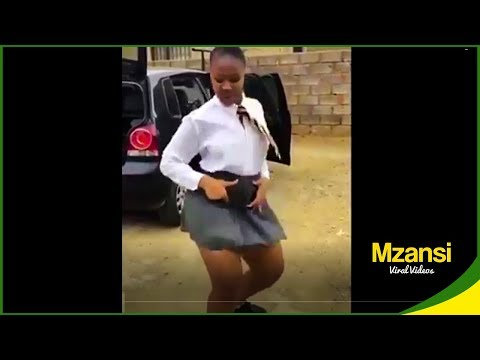 South African school kids dancing 2019