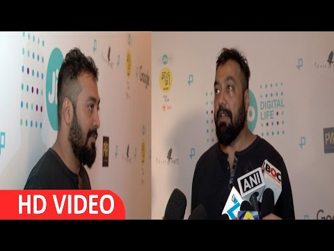 Interview With Anurag Kashyap At India Premier Of Google