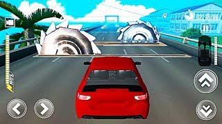 Deadly Race #4 (Speed Car Bumps Challenge) | Gameplay Android and iOS