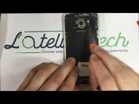 Tuto changement de batterie : Samsung Galaxy S7 Edge (видео)