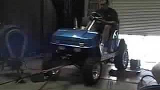 7. Golf Cart with Yamaha R1 engine