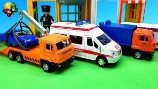 Video شاحنة إطفاء ، شاحنة سحب ، خلاطة خرسانة ، شاحنة لجمع القمامة. الكرتون والتفريغ MP3, 3GP, MP4, WEBM, AVI, FLV Januari 2019