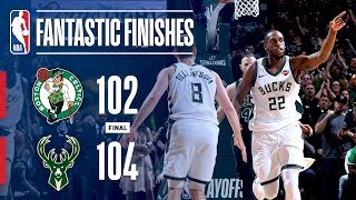 All The Best Moments From The Thrilling Game 4 Between The Bucks and Celtics by NBA
