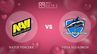 Natus Vincere vs Vega Squadron - RU @Map1 | Dota 2 Valentine Madness | WePlay!