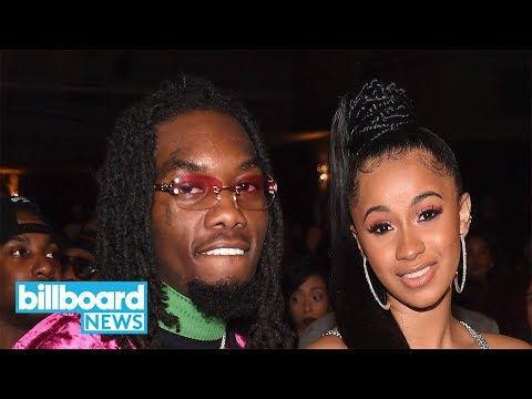 Cardi B Shares Photo From Secret Wedding on One Year Anniversary | Billboard News