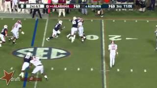 Cyrus Kouandjio vs Auburn (2013)
