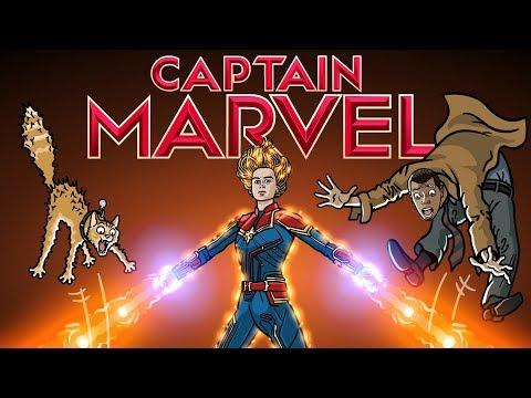 Captain Marvel Trailer Spoof - TOON SANDWICH