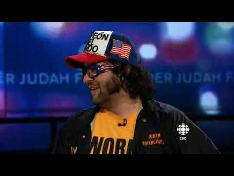 The World Champion Judah Friedlander visits George Strombolopolous 2011
