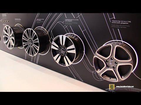 2016 Mercedes-Benz Genuine Accessoires and Rims Line-up Walkaround - 2015 Frankfurt Motor Show