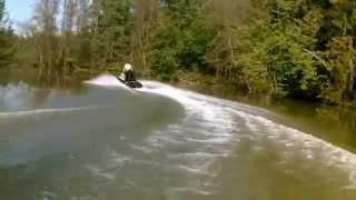 10. Water Пермь. По Кутамышу на гидроциклах. Yamaha gp800 & xl700.
