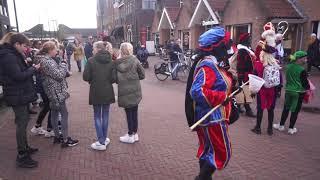 Sinterklaas met ZWARTE pieten in Spakenburg