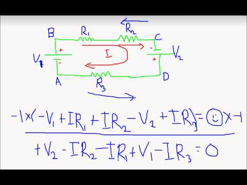 how to apply kvl in transistor