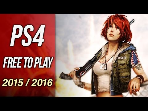Upcoming Free To Play PS4 Games 2015 (Planetside 2, Everquest Next, H1Z1, War Thunder)