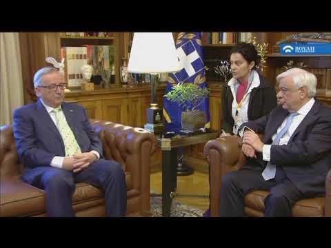 Ο Πρόεδρος της Ευρωπαϊκής Επιτροπής Ζαν-Κλοντ Γιουνκέρ στη Βουλή των Ελλήνων   (26/04/2018)