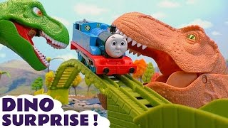 Video Thomas and Friends Dinosaurs Surprise Toy Trains Episode with Batman Mashems and Surprise Eggs TT4U MP3, 3GP, MP4, WEBM, AVI, FLV November 2017