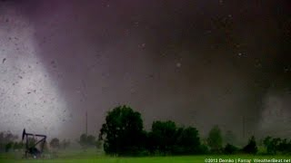 Horrific EF-5 tornado in Moore, Oklahoma: May 20, 2013
