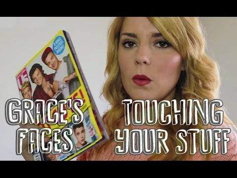 Lindsey Stirling's stuff | Touching Your Stuff : Grace's Faces // I love makeup.