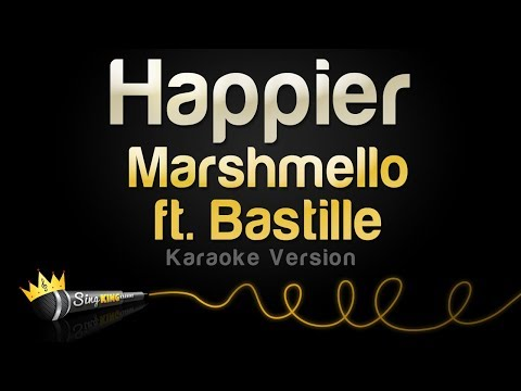 Marshmello Ft. Bastille - Happier (Karaoke Version)