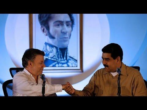 Ανοίγουν και πάλι τα σύνορα Βενεζουέλας – Κολομβίας