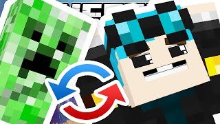 Minecraft | SWAPPING CREEPERS WITH PLAYERS..