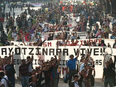 Solidarity with the kidnapped Mexican students