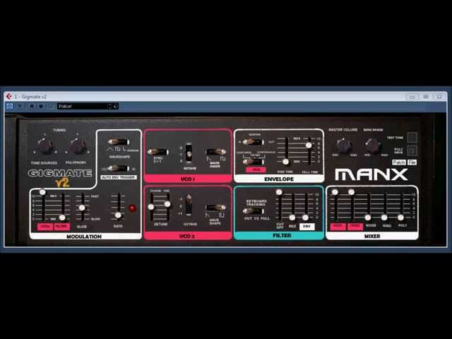 Gigmate v2 by MANX Synthesizers
