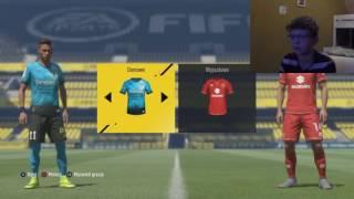 Pierwszy online draft Wiktora w FIFA17