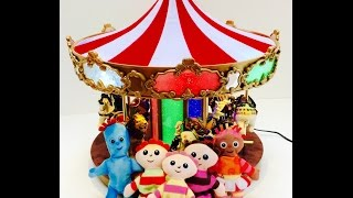 In The Night Garden Rides A Shimmering Toy Mr. Christmas Animal Carousel