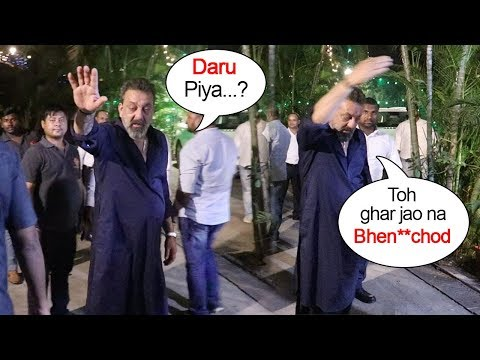 Video Sanjay Dutt's FUNNY Moments With Reporters At Diwali Party 2018 download in MP3, 3GP, MP4, WEBM, AVI, FLV January 2017