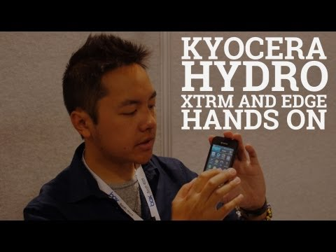Kyocera has expanded its Hydro Series of waterproof smartphones with the introduction of the Hydro XTRM and Hydro Edge