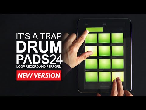 Video of Trap Drum Pads 24
