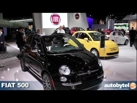 FIAT 500 at the 2012 Detroit Auto Show video