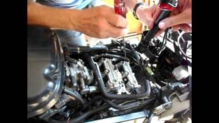 9. Suzuki Vstrom DL650 Motorcycle Valve Clearance Adjustment Part II