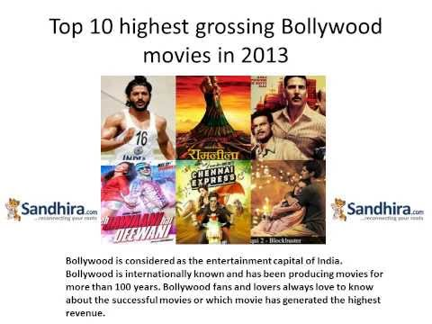Top 10 Highest Grossing Bollywood Movies in 2013