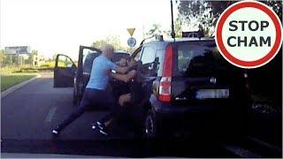 Bójka kierowców na drodze w Rudzie Śląskiej. Gościa z BMW poniosło