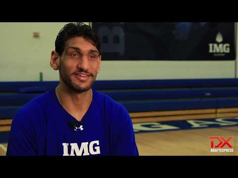 Satnam Singh 2015 NBA Draft Workout Video (IMG Academy)