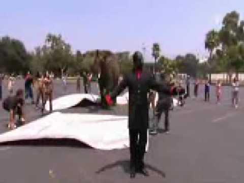 Criss Angel desaparece un elefante
