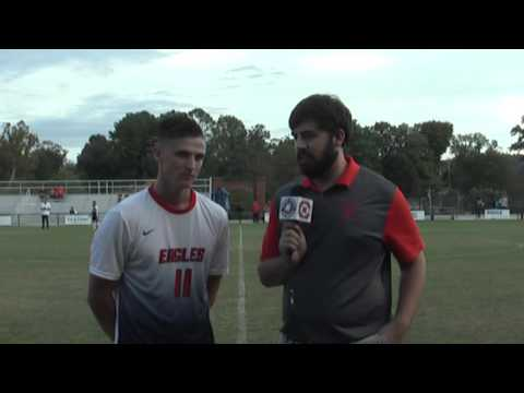 Carson-Newman Men's Soccer: Jules Gabbiadini Interview Post Queens 09-27-15