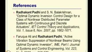 Mod-16 Lec-37 Optimal Control Of Distributed Parameter Systems -- I