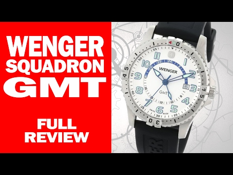 , title : 'Wenger Squadron GMT Swiss Quartz - 77070 - I Review Crap!'