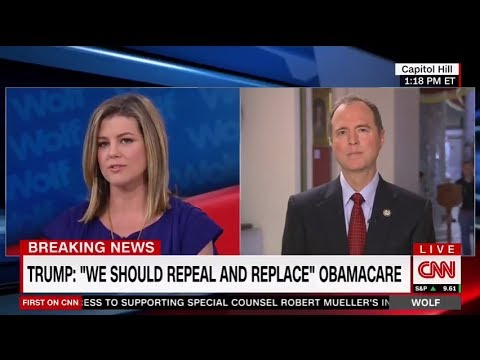 Rep. Schiff Discusses Second Trump-Putin Meeting and Healthcare on CNN