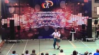 Chantal Roos & Pascal Roos - Süddeutsche Meisterschaft 2014