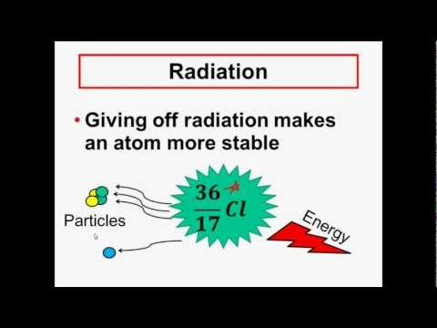 radiation - NUCLEAR CHEMISTRY Radioactivity & Radiation - Alpha, Beta, Gamma - This video introduces students to nuclear chemistry. Discussed are the topics of why a nuc...