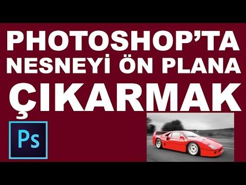 Nesneleri Belirginleştirmek | Photoshop Dersleri