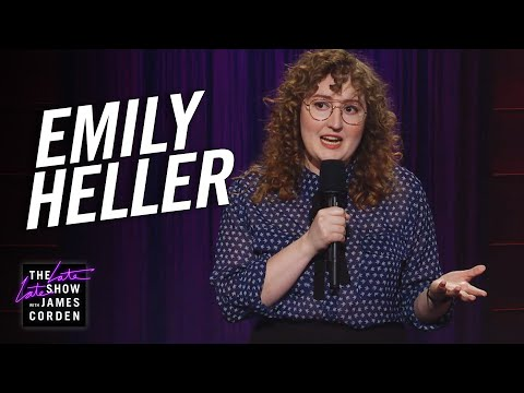 Emily Heller StandUp on The Late Late Show